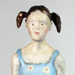 Doll (Detail), 2011,Bronze, 37 x 13 x 9cm