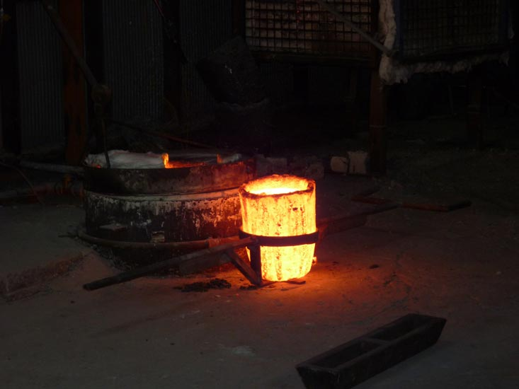 Furnace-and-crucible
